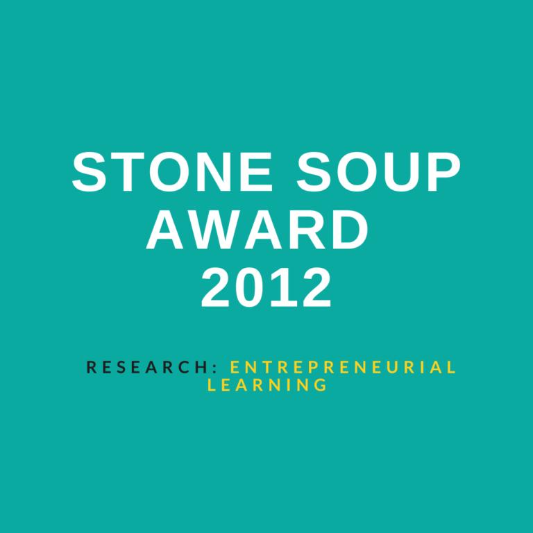 STONE SOUP AWARD 2012